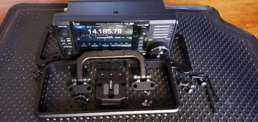 Peovi Cage for the ICOM IC-705 Portable  Transceiver